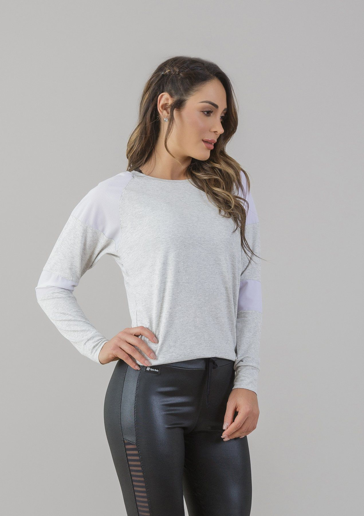 Blusa Visco-Lycra Spider