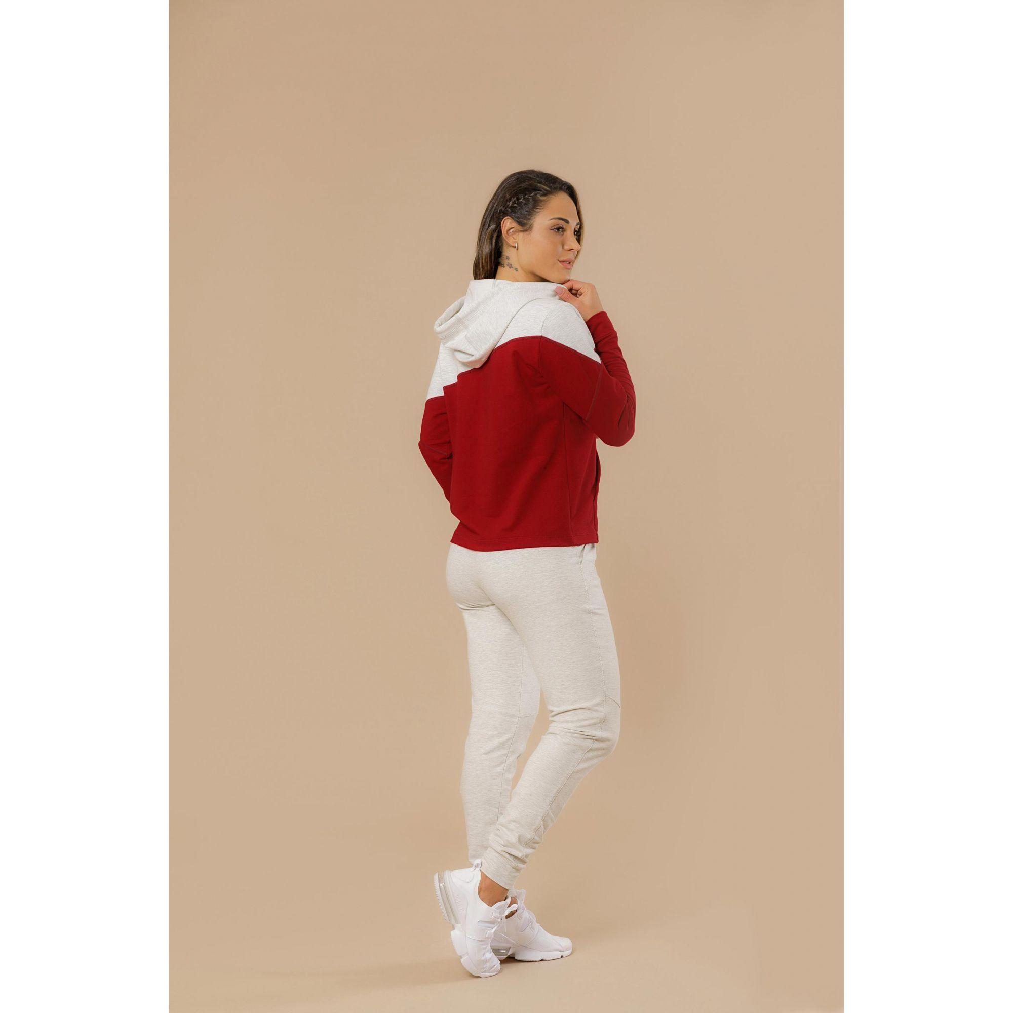 Blusão Sport Fleece Capuz