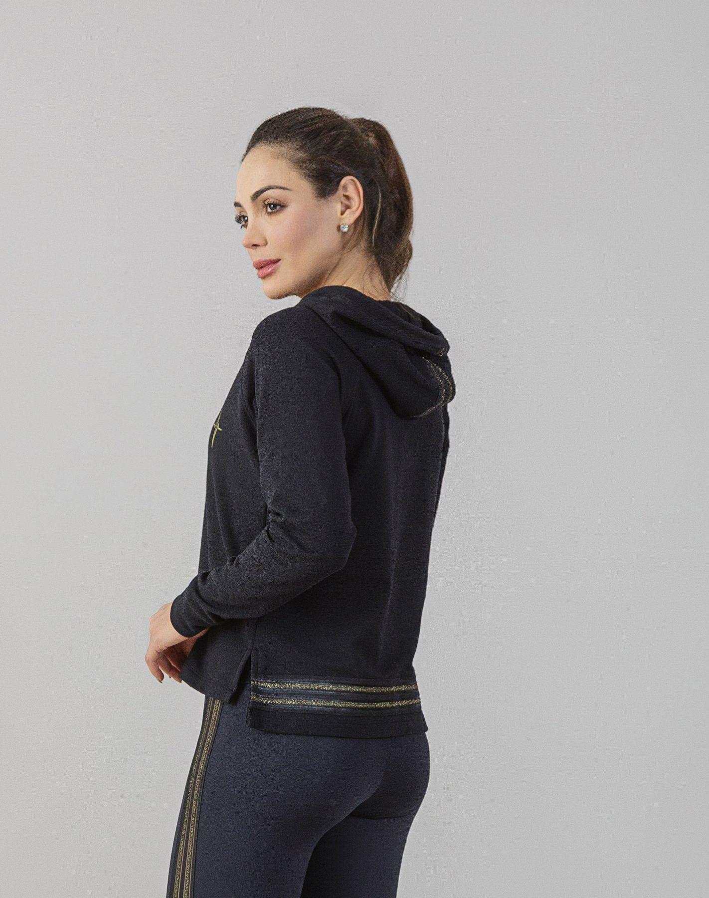 Blusão Sport Fleece Listras