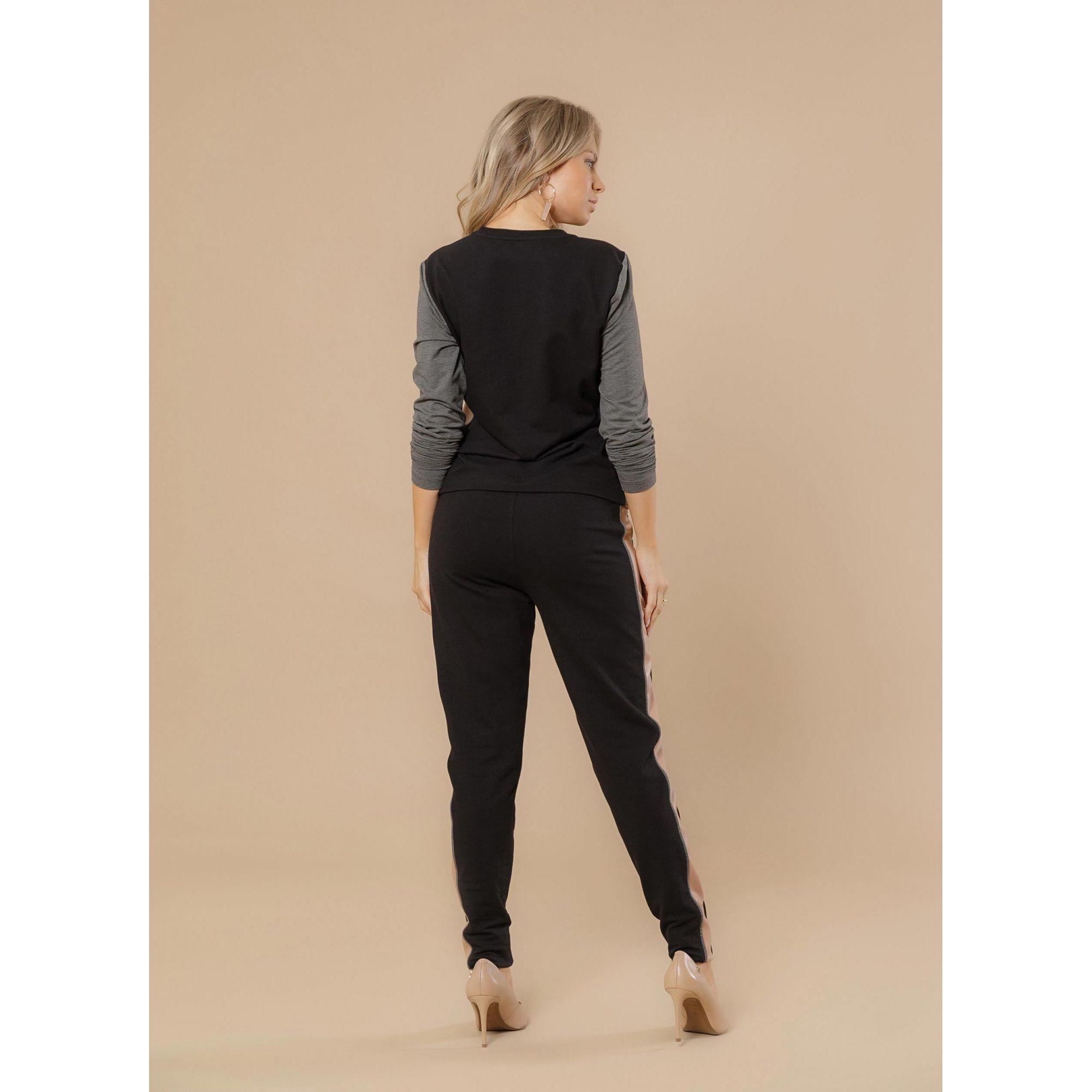 Calça Sport Fleece Leather