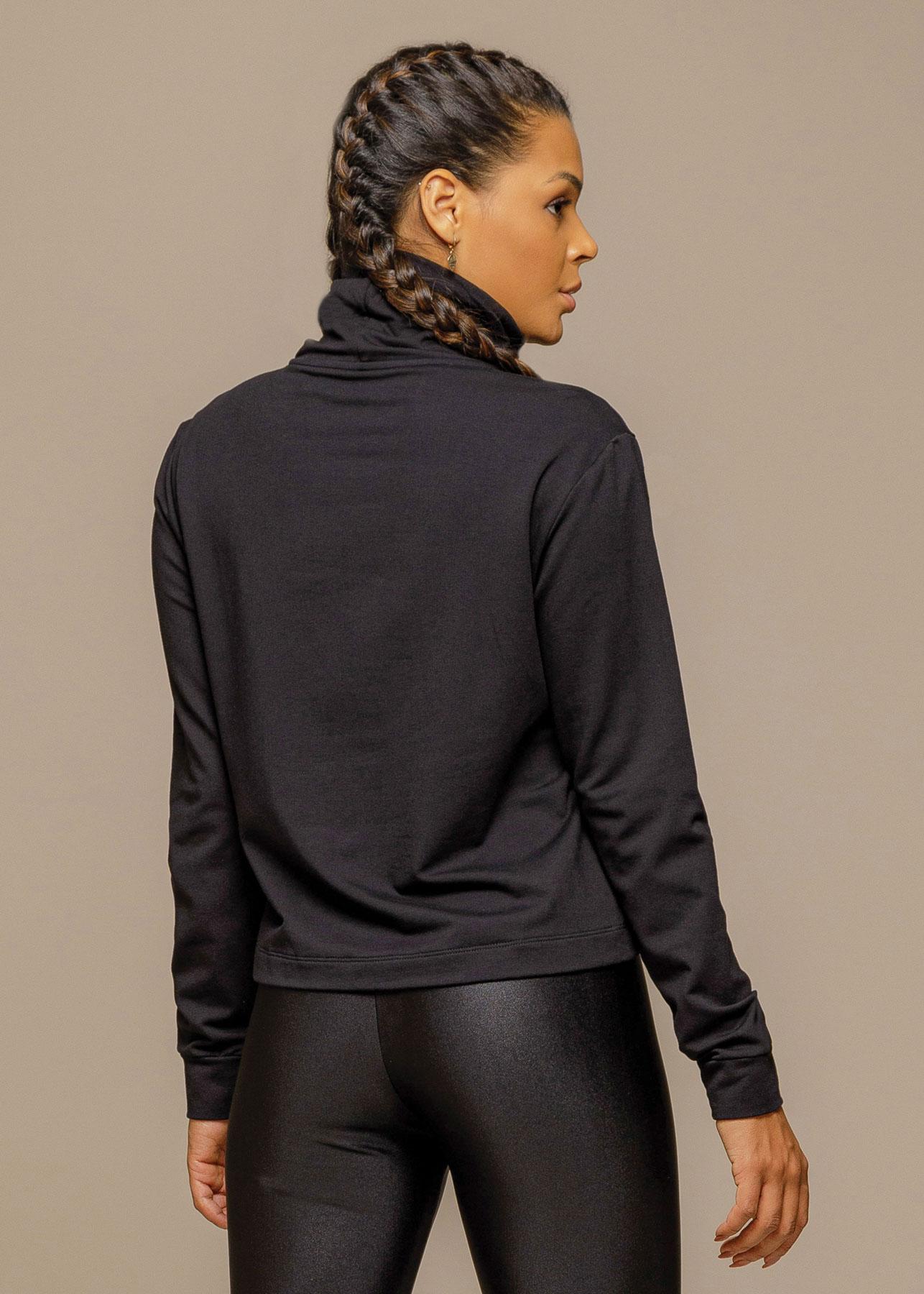 Cropped Sport Fleece Ilhos