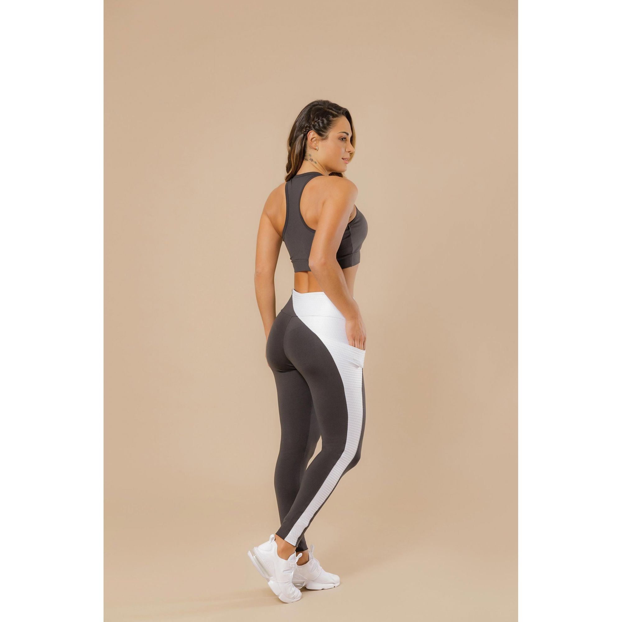 Legging Supplex Action Fit de Bolso