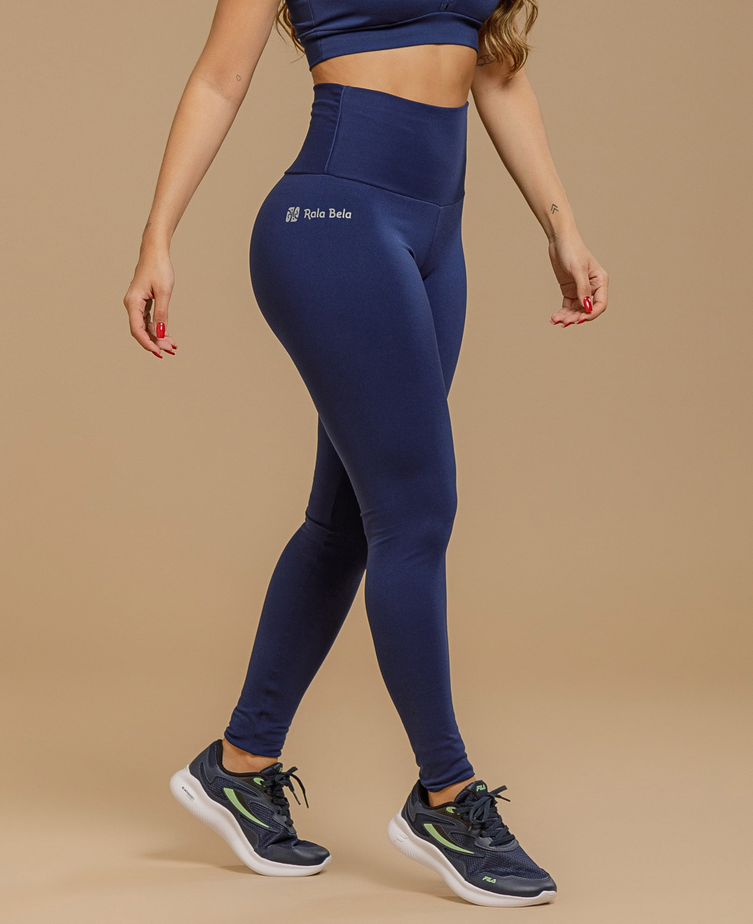 Legging Supplex Cós Alto Essencial RB