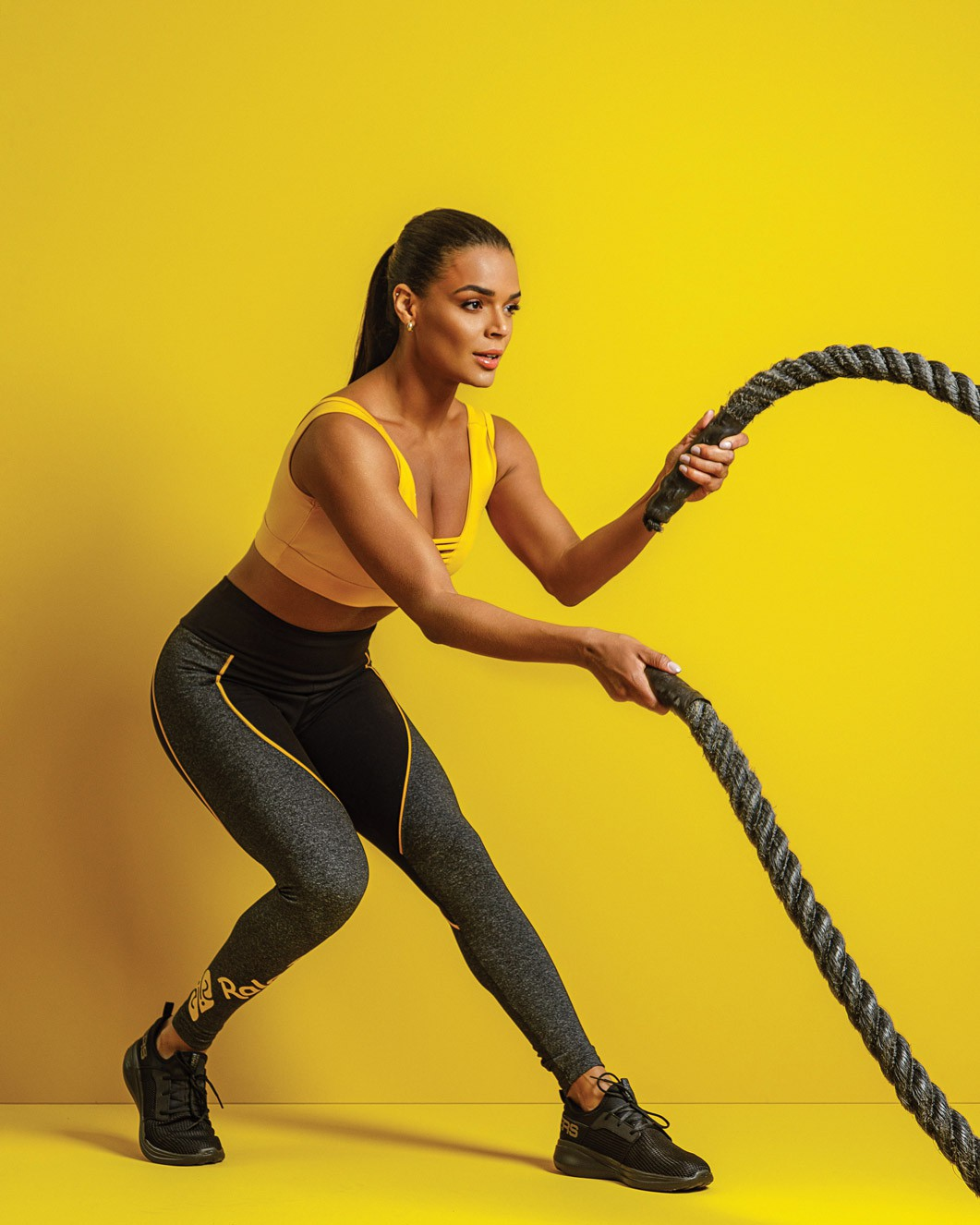 Legging Supplex Sport Tricolor