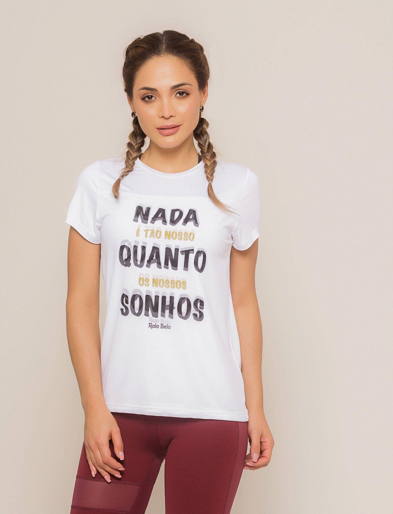 T-shirt Visco com Tule