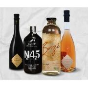 Combo Especial Dia das Mães  N45 Negroni, Aureah Vermute Rossa e Aureah Vermute Rosé e Destilado Botânico Brizê