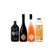Combo Famiglia Griffo N45 Negroni, Aureah Vermute Rossa e Aureah Vermute Rosé e Destilado Botânico Brizê