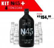 PACK PROMOCIONAL N45 NEGRONI COM 4 unidades de RIVERSIDE PREMIUM MIXERS ORIGINA TONIC