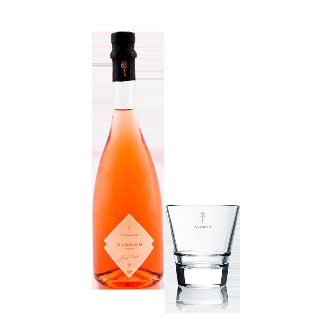 Aureah Vermute Rosé 750ML + Copo Exclusivo