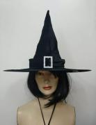 Chapéu De Bruxa Preto Fantasia Halloween