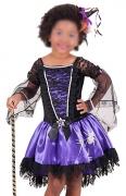 Fantasia Bruxa / Vampira Infantil Curto