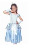 Fantasia Princesa Cinderela Infantil - Longo