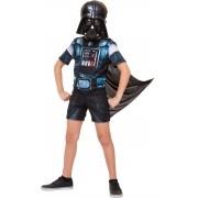 Fantasia Darth Vader Infantil - Curto