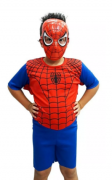 Fantasia Homem Aranha Infantil - Curto