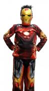 Fantasia Homem de Ferro Infantil - Longo