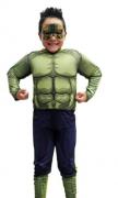 Fantasia Hulk Infantil - Músculos
