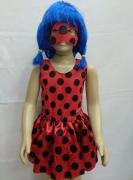 Fantasia Ladybug infantil