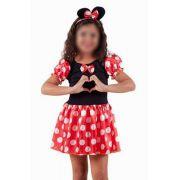 Fantasia Minnie Mouse Infantil