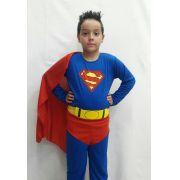 Fantasia Super Homem Infantil