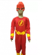 Fantasia The Flash com Máscara Infantil