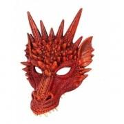 Máscara Dragão Látex Dinossauro