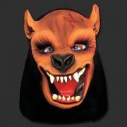 Máscara Lobo com Capuz - Látex