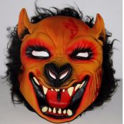 Máscara Lobo Mau Fera Pelo Látex