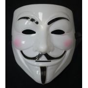 Máscara V de Vingança - Plástico