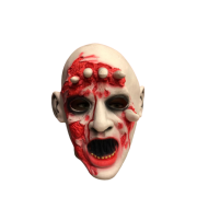 Máscara Zumbi Monstro com Dedos Terror Halloween - Látex