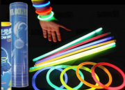 Pulseira Neon - Tubo c/ 100 Colorido