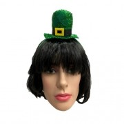 Tiara Saint Patricks Day Mini Cartola Verde