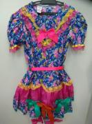 Vestido Caipira São João - Adulto