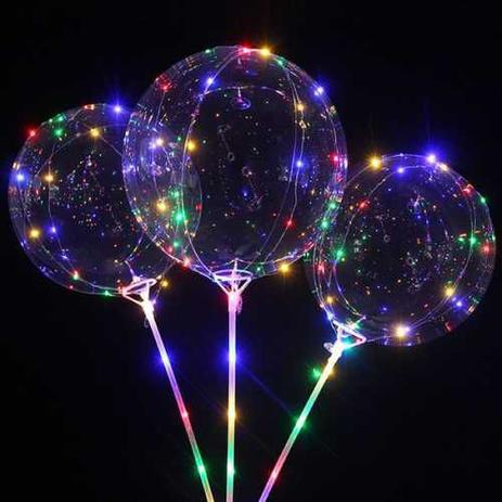 Balão Bubble LED Personalizado (sob encomenda)