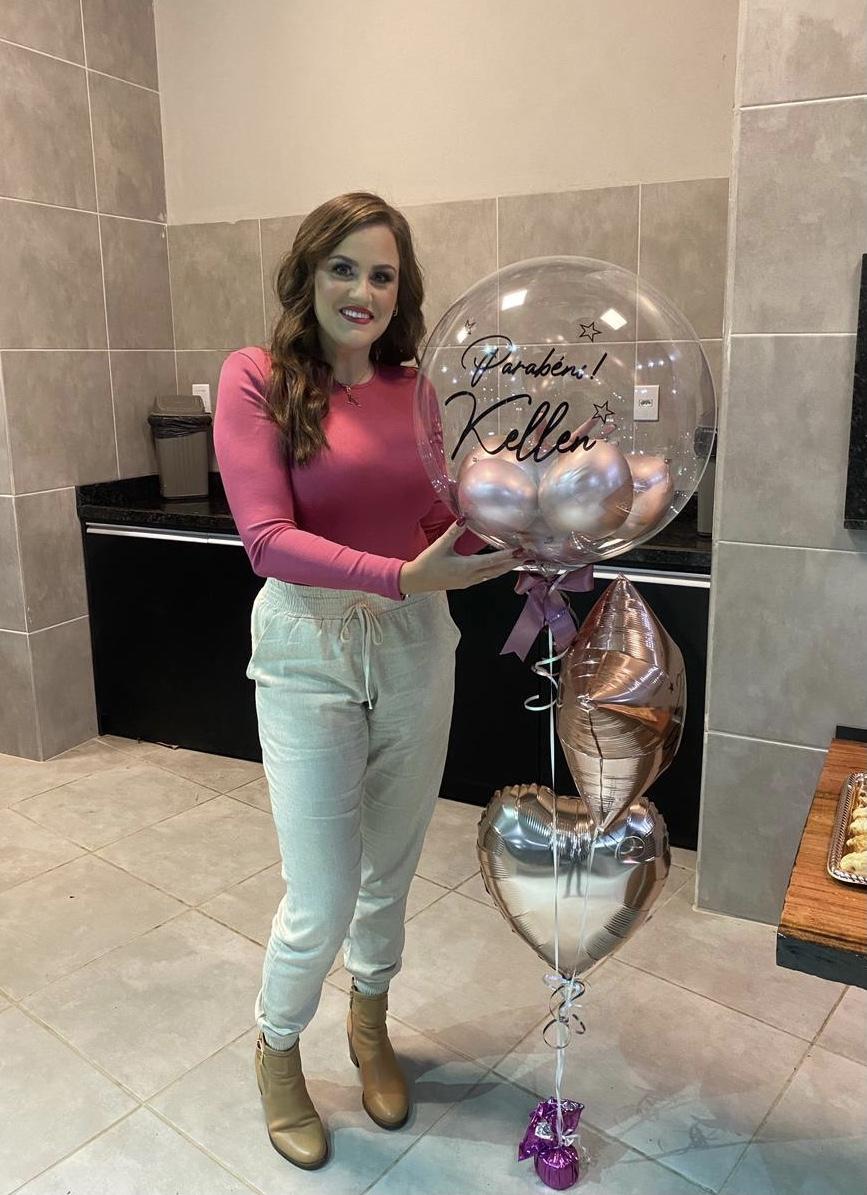 Balão Bubble Personalizado (sob encomenda)