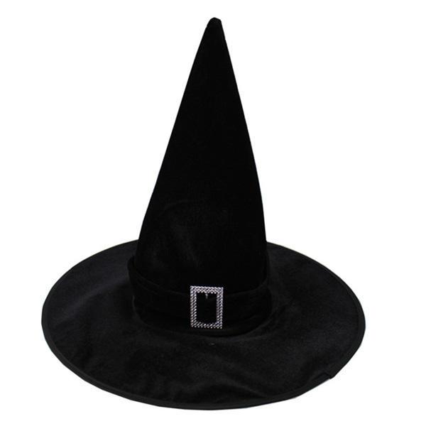 Chapéu Bruxa Veludo