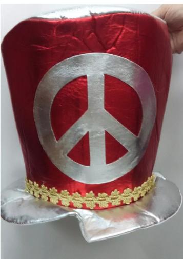 Cartola Hippie da Paz