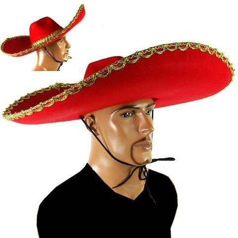 Chapéu Mexicano Sombrero Fantasia
