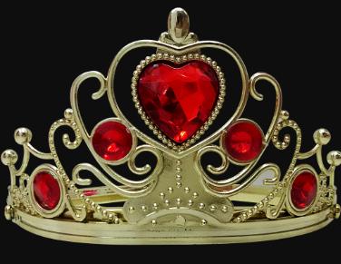 Coroa Princesa - Vermelha