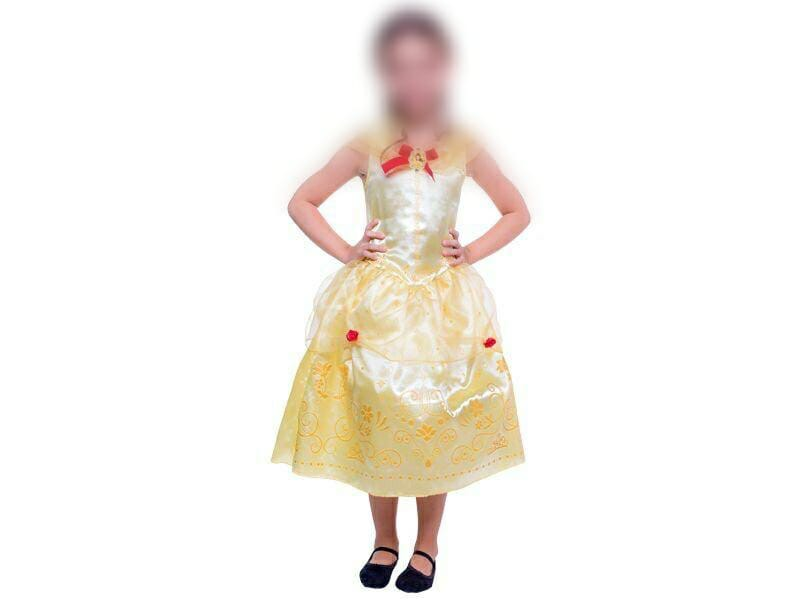 Fantasia Princesa Bela e a Fera Luxo Infantil