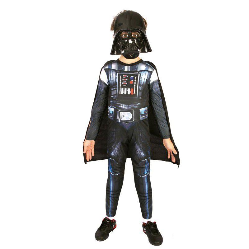 Fantasia Darth Vader Infantil - Longo