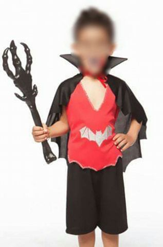 Fantasia Vampiro Drácula Infantil