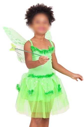 Fantasia Fada Sininho Tinker Bell Infantil