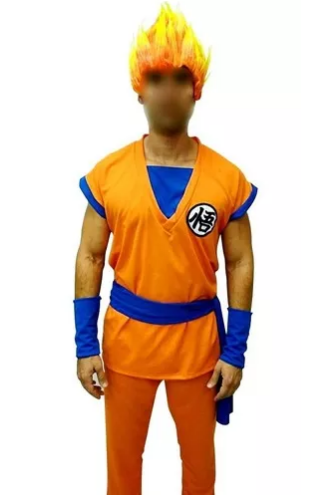 Fantasia Goku Dragon Ball Adulto