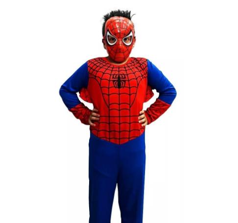 Fantasia Homem Aranha Infantil - Longo