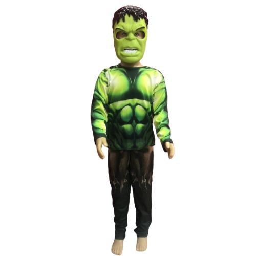 Fantasia Hulk Infantil - Longo