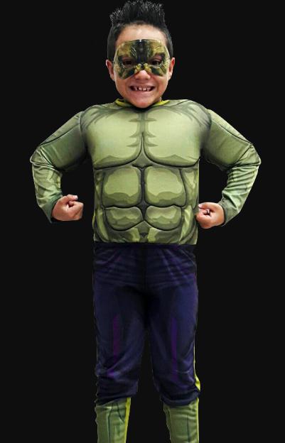 Fantasia Incrível Hulk Infantil Longa
