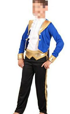 Fantasia Príncipe Bela e a Fera Infantil