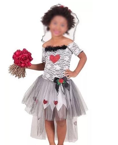 Fantasia Bruxa Noiva Drácula Infantil