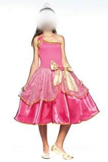 Fantasia Princesa Barbie Infantil