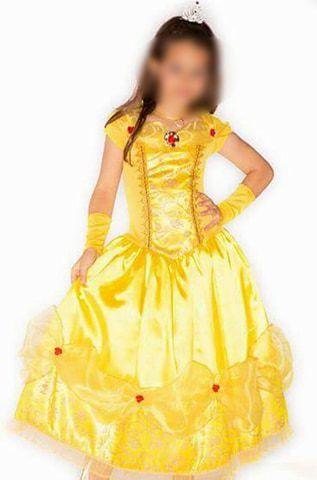 Fantasia Princesa Bela e a Fera Infantil